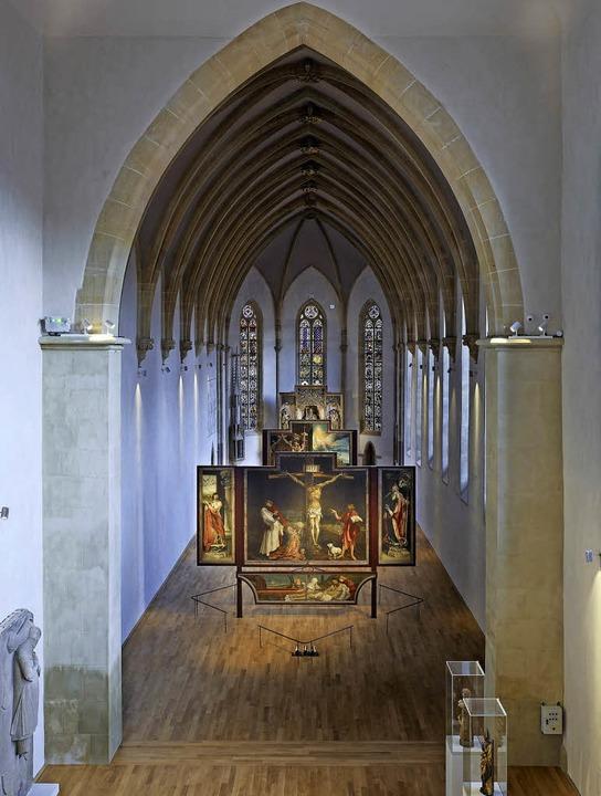 Auf einem neuen Eichenboden gebettet: ...enheimer Altar von Matthias Grünewald   | Foto: Musée Unterlinden