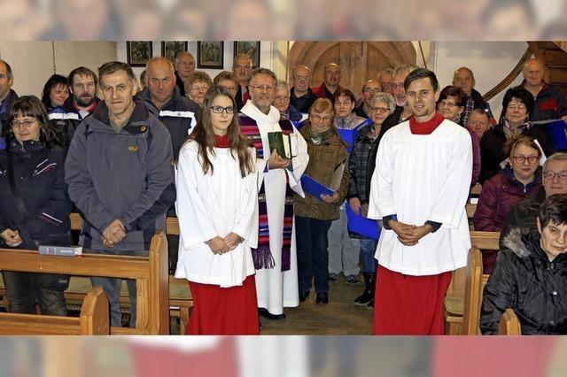 Schöne Feier zu Ehren des Heiligen Nikolaus