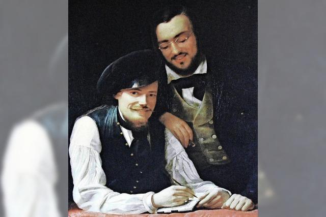 Zeichnungen der Brüder Hermann und Franz Xaver Winterhalter in St. Blasien