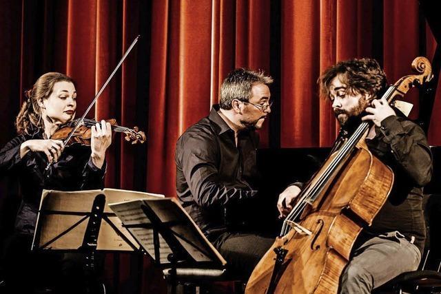 Atos-Klaviertrio gibt Wunschkonzert im Bad Säckinger Kursaal
