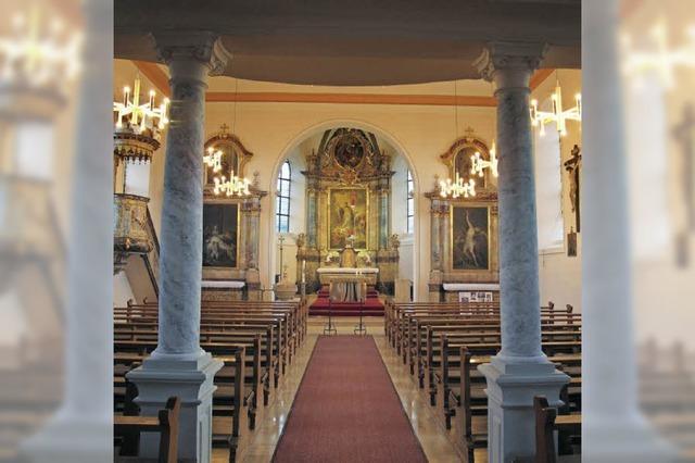 Pfarrkirche Sankt Leodegar ist frisch renoviert - Festgottesdienst am Sonntag
