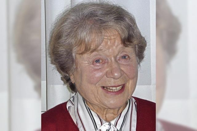 Abschied für Helga Ahhy