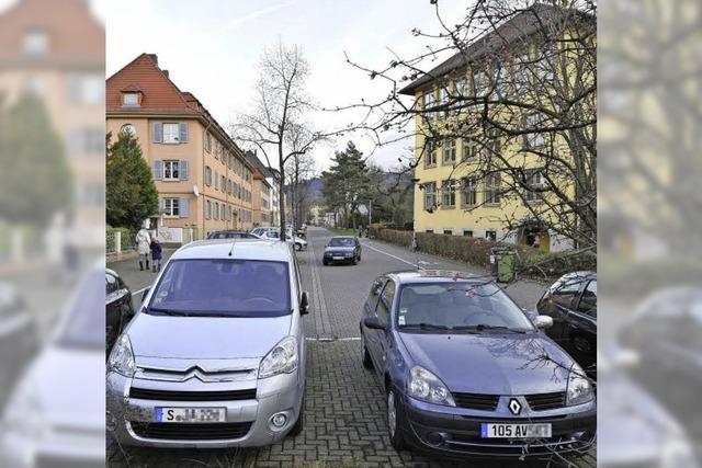 Im Stadtteil Brühl-Beurbarung ist eine Bewohnerparkzone im Gespräch