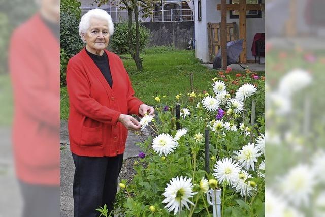 Seit 1968 lässt Berta Nägele Blumen blühen