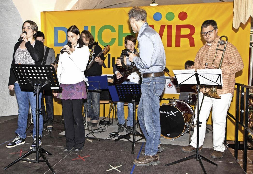 Die Band Joy Included begeisterte das Publikum.    Foto: Photographer: Gabriele Zahn