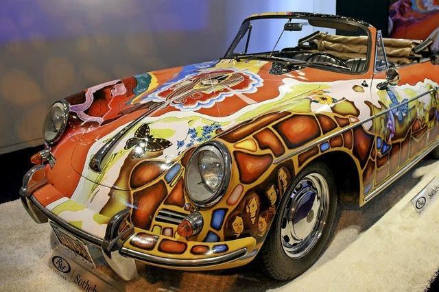 Janis Joplins Porsche für 1,6 Millionen Euro versteigert