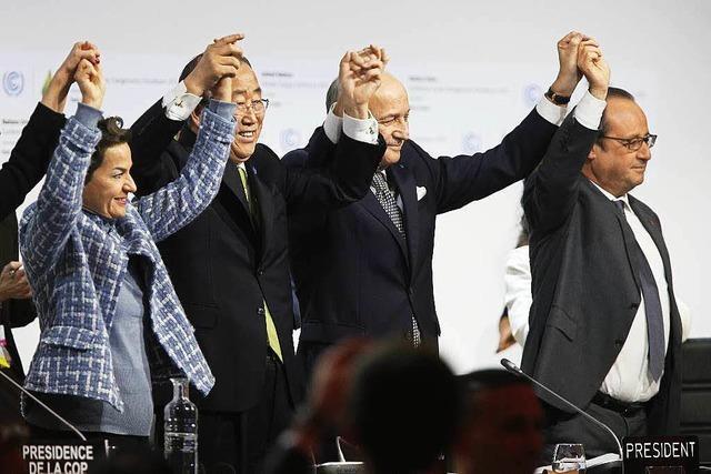 Staaten einigen sich auf Weltklimavertrag
