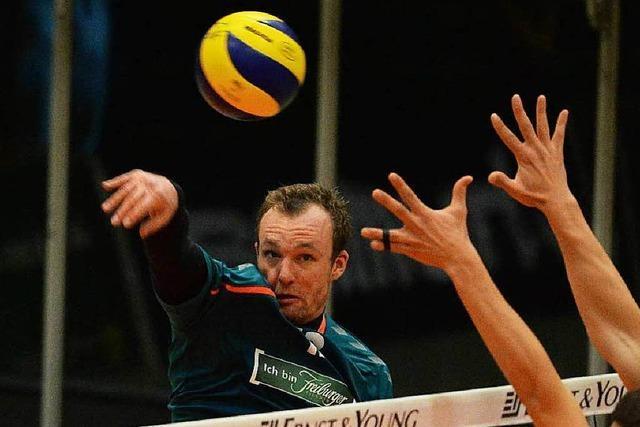 Freiburger Happy End im Volley-Thriller