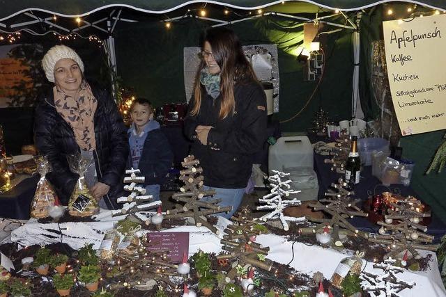 Teninger Weihnachtsmarkt: Zuspruch für räumliche Neuaufteilung