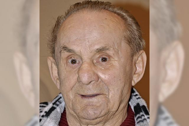 Georg Bywalec 85 Jahre alt