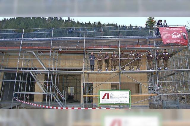 Der neue Bauhof nimmt Gestalt an