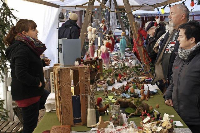 Weihnachtsmarkt im Schlosspark