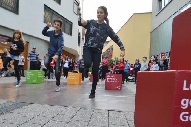 Tanzen für Lörrachs neues Leitbild
