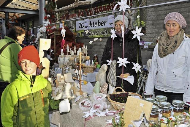 Weihnachtliches auf dem Markt