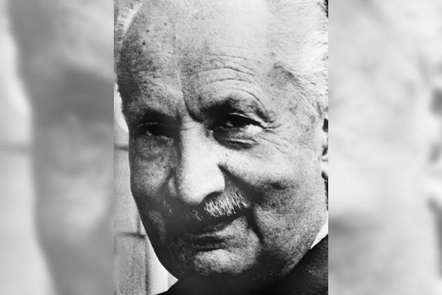 Mit Heidegger auf dem Holzweg