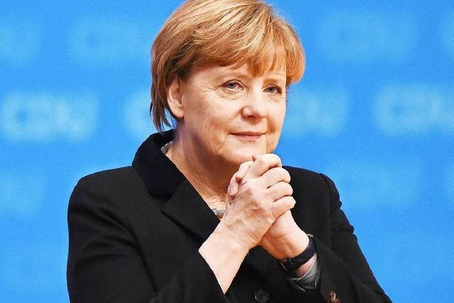 So begründet Merkel ihre Flüchtlingspolitik auf dem CDU-Parteitag