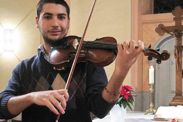 Geiger aus Syrien will in Lahr wieder Fuß fassen