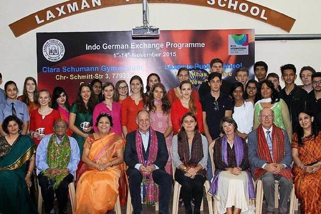 Lahrer Schule hat Partner in New Delhi