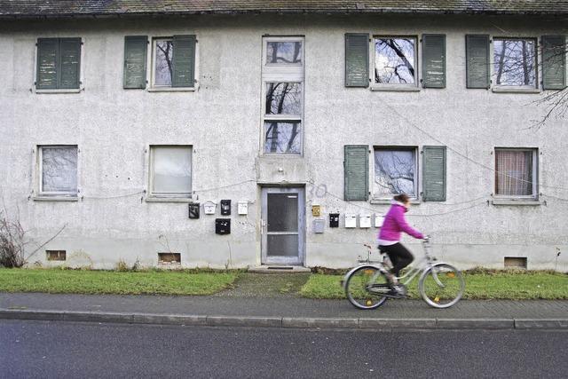 Ein Schandfleck wird durch Wohnraum ersetzt