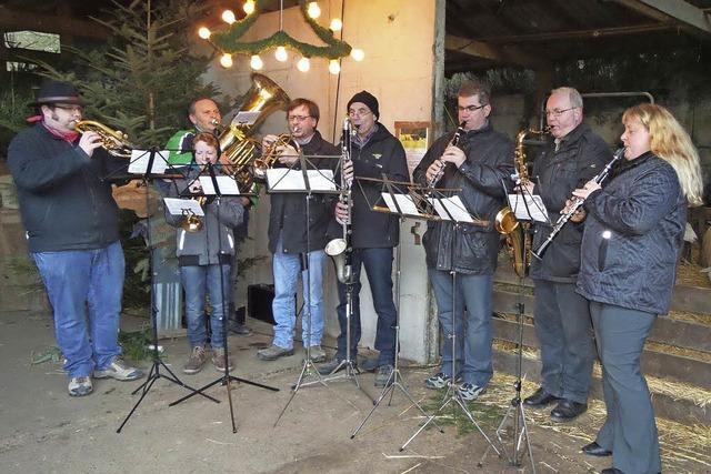 Weihnachtsfest auf dem Fohlenhof