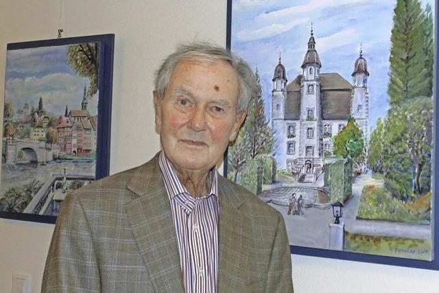 Der Bad Säckinger Kunstmaler Werner Kessler ist mit 89 Jahren gestorben