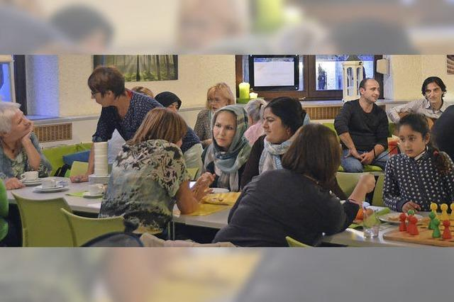 Begegnung mit Einheimischen und Flüchtlingen in St. Blasien
