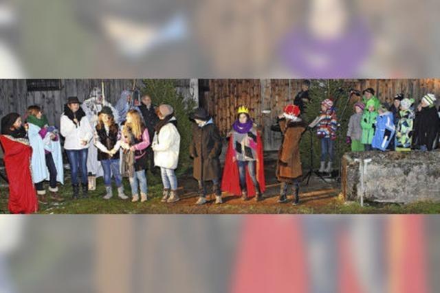 """Mit der Theater-AG der Fürstabt-Gerbert-Schule: """"Das missglückte Weihnachtsspiel"""" in St. Blasien"""