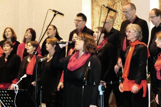 Gospelchor St. Josef bringt gute Nachrichten