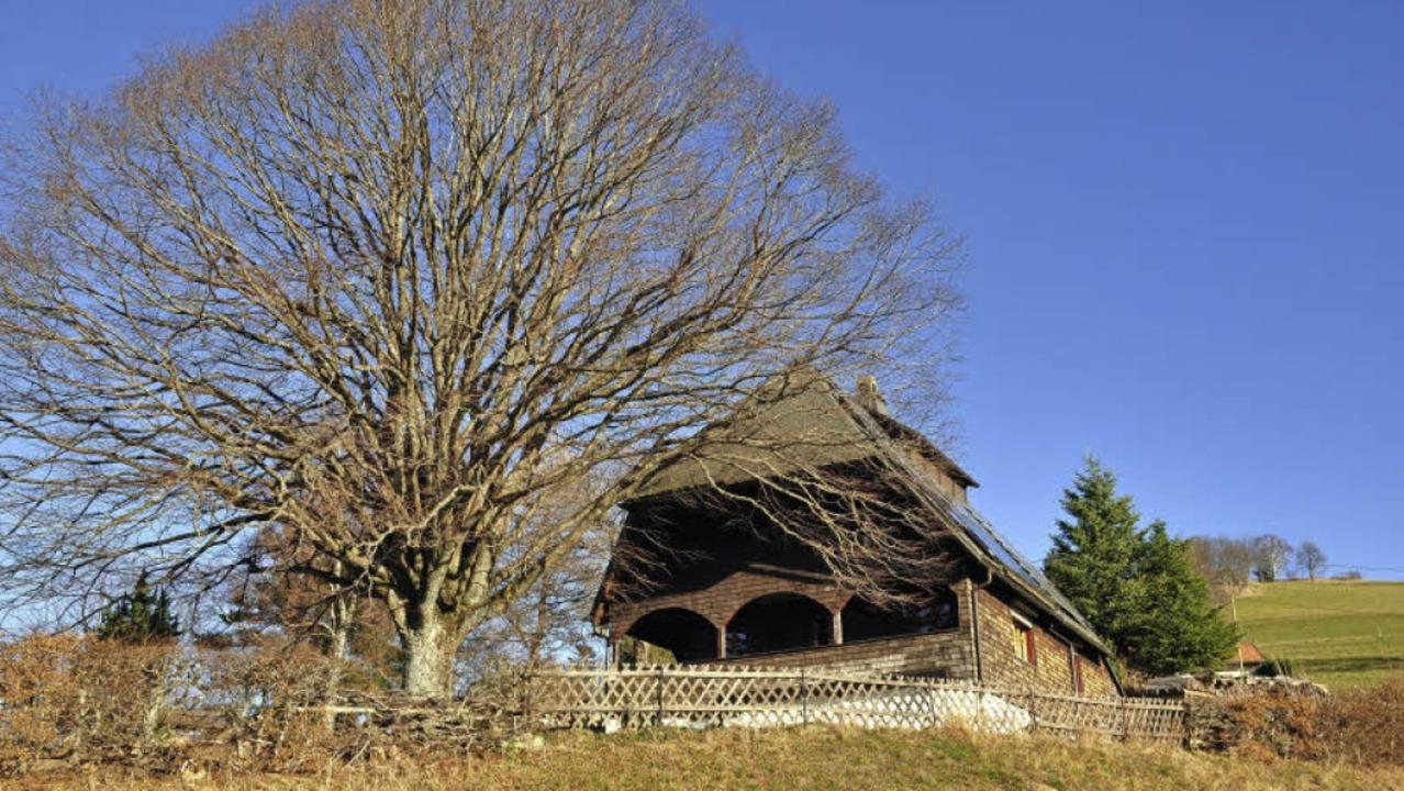 Idyllisch gelegen: das Berglusthaus de...arzwaldvereingruppe Freiburg-Hohbühl.   | Foto: Ralf Strittmatter