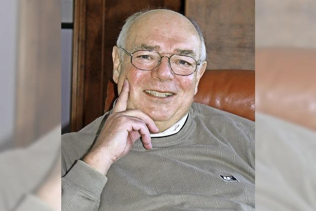 Karl-Dietrich Weise feiert seinen 70. Geburtstag
