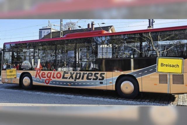 Eine neue Buslinie verbindet Breisach und Bad Krozingen direkt