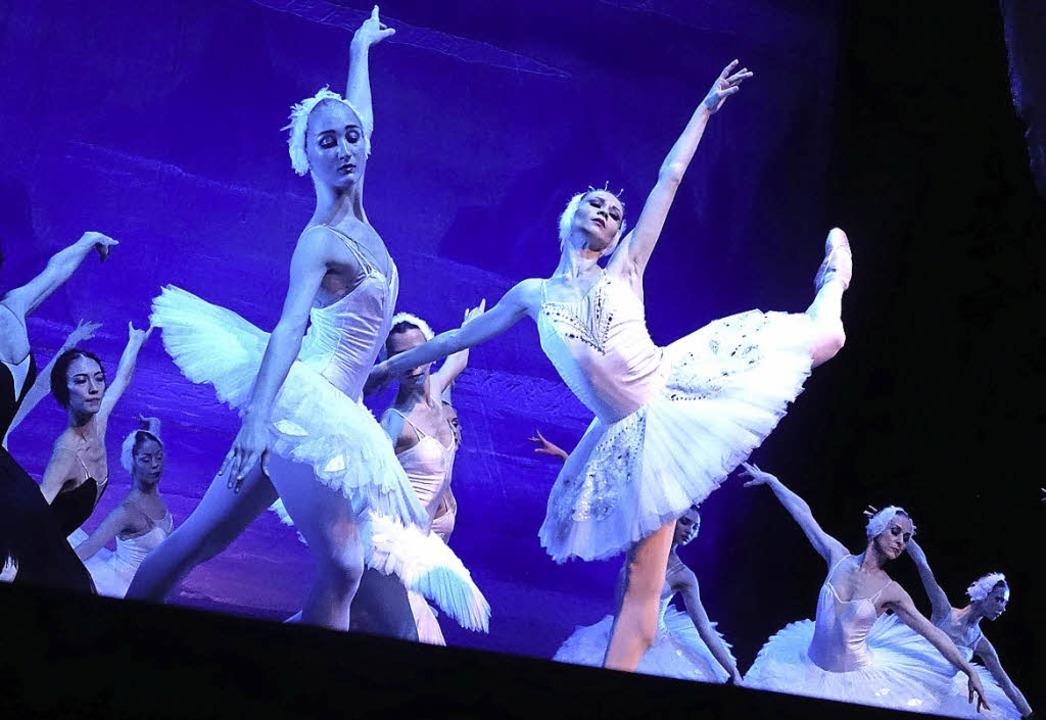 Tänzerinnen des Russischen Nationalballetts    Foto: Roswitha Frey