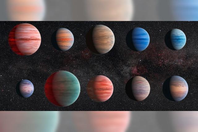 Astronomen katalogisieren Atmosphären