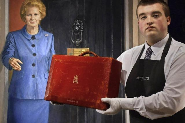 Christie's versteigert Accessoires von Margaret Thatcher