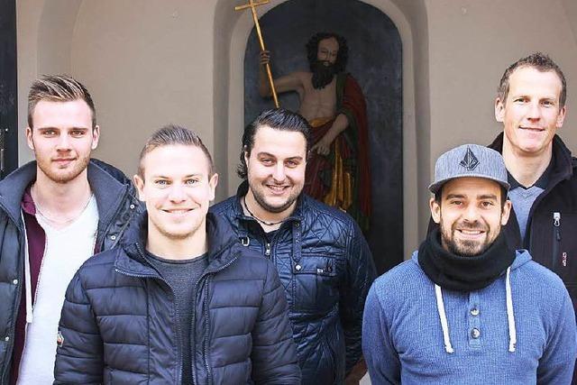 Fünf Fußballer spenden nach Typisierungsaktion in Forchheim