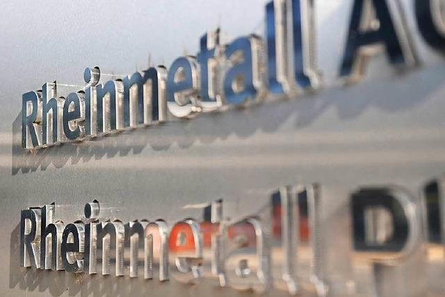 Deutsche Firmen verkaufen mehr Waffen