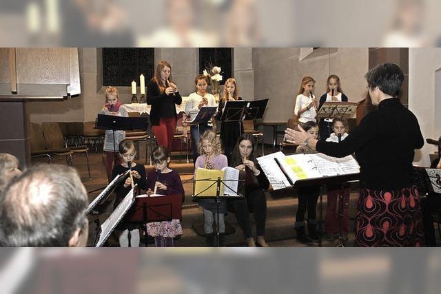 Musikalisch auf Weihnachten eingestimmt