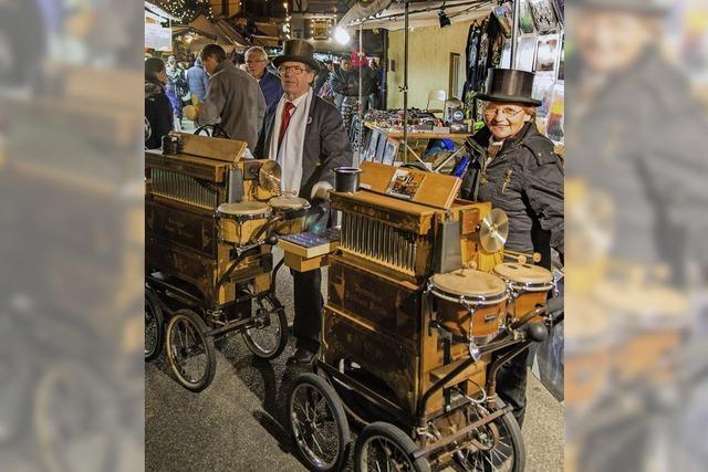 Die Mahlberger Altstadt zeigt sich im Lichterglanz