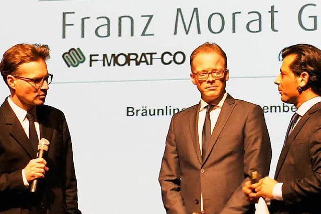 Rekordumsatz für Franz Morat Group