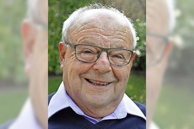 Der langjährige Forstpräsident Erwin Lauterwasser feiert 85. Geburtstag