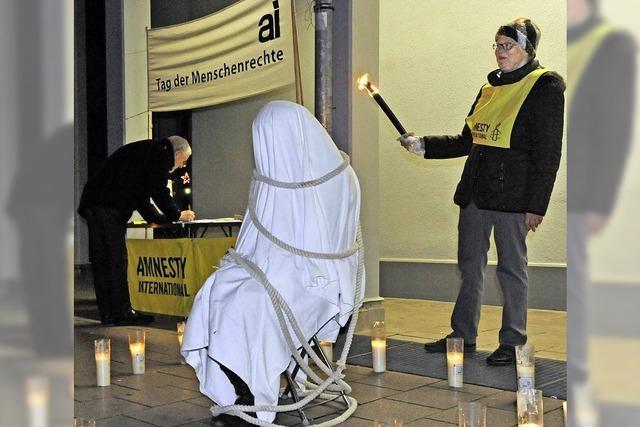 Amnesty Mahnwache