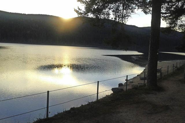 Abendliche Ruhe am Schluchsee