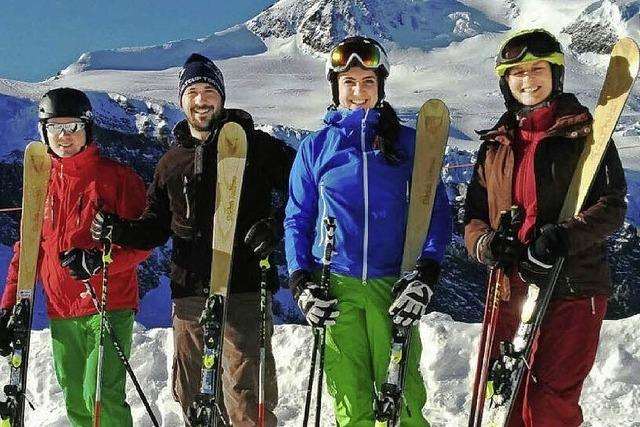 Ski-Bretter wie anno 1891