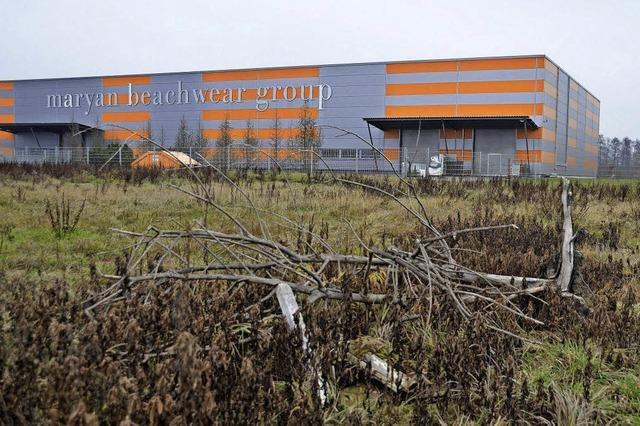 Logistikzentrum in Laufenburg: Maryan Beachwear verdoppelt Fläche