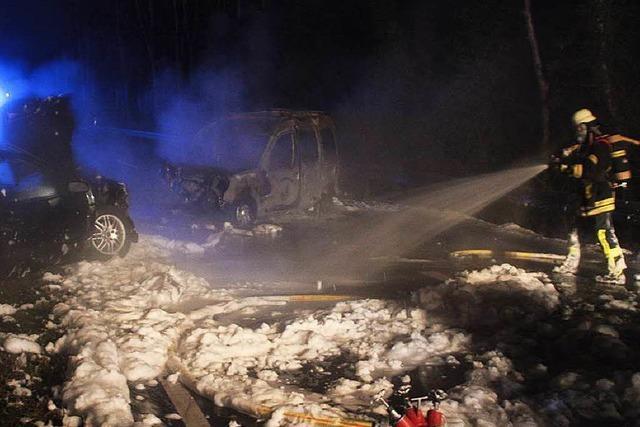 Schwerer Unfall auf B 518 zwischen Wehr und Hasel