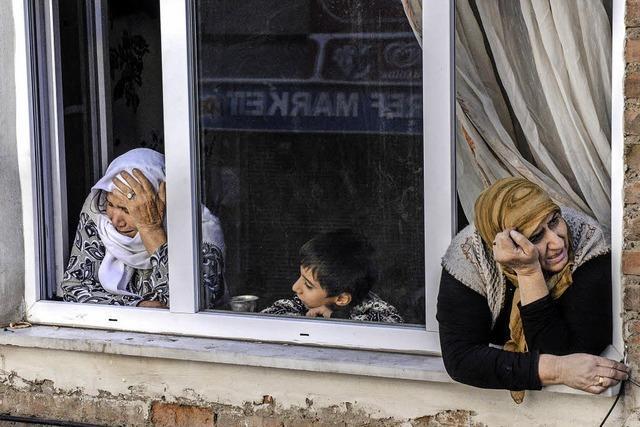 Kurden auf der Flucht