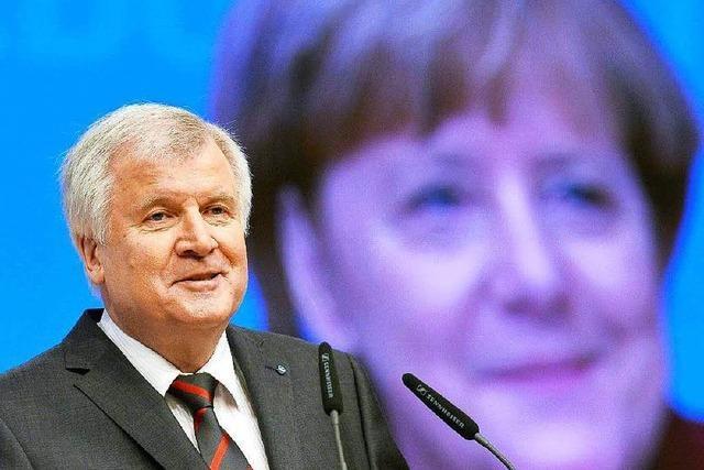 CDU-Parteitag: Seehofer gibt sich demütig