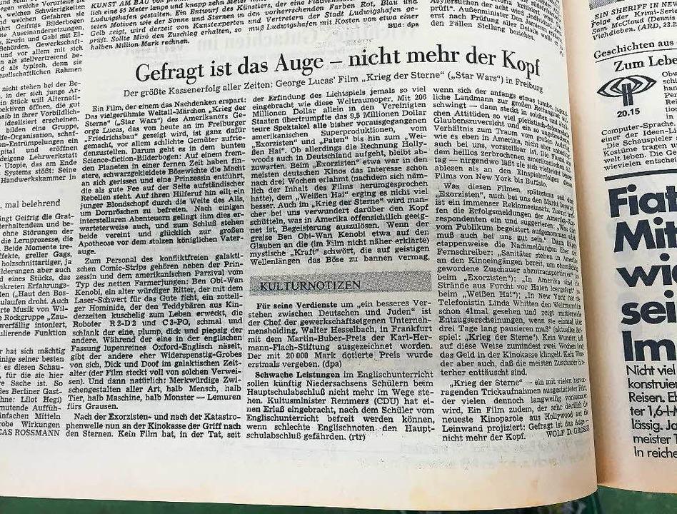 """""""Gefragt ist das Auge – nicht mehr der Kopf""""    Foto: Oliver Huber"""