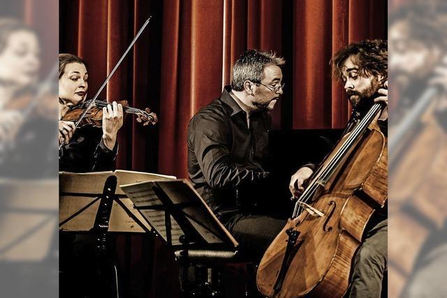 Das Atos-Trio spielt im Bad Säckinger Kursaal ein Wunschprogramm