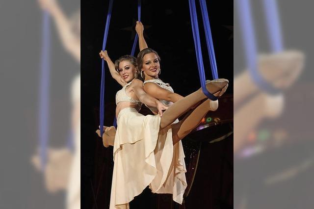 Akrobatik und Artistik beim Lörracher Weihnachtscircus